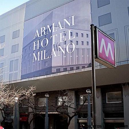 Hotel Armani en Milán