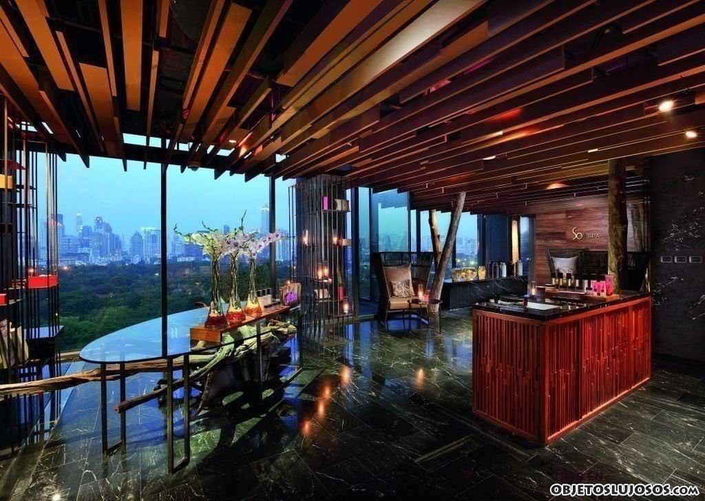 Un hotel moderno en miami beach for Fachadas de hoteles de lujo