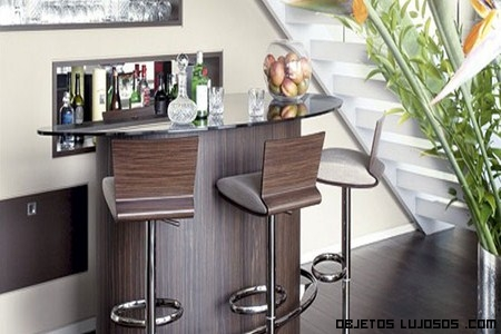 Mueble de bar para casa ideas de disenos - Barras de bar de madera ...