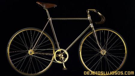 Bicicleta de oro es la más cara del mundo