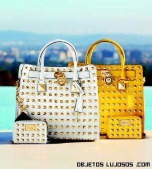 bolsos con tachuelas