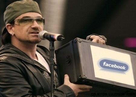 Bono, millonario con Facebook
