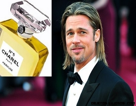Brad Pitt nueva imagen de Chanel