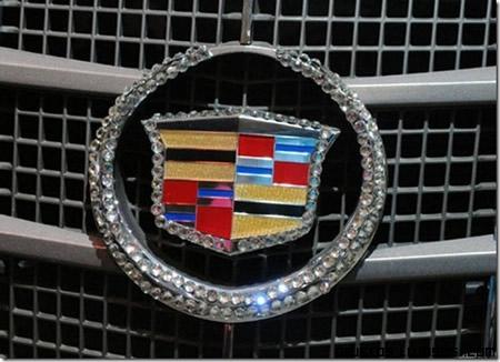 Cadillac CTS Coupe con cristales Swarovski