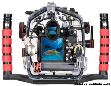 Una cámara sumergible de lujo