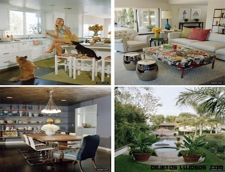 Casa de Kristen Bell con inspiración española