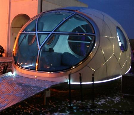 Casa móvil del futuro