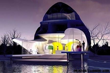 Casa ecológica con nombre propio: The Orchid