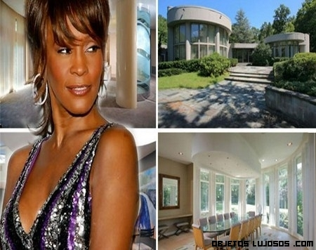 La casa de Whitney Houston, a la venta