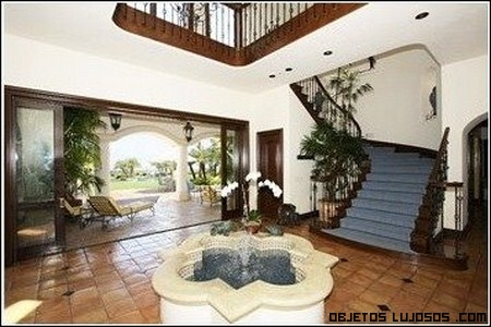 Interior de la vivienda de Robbie Williams