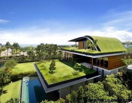 Casa ecológica Meera en Singapur