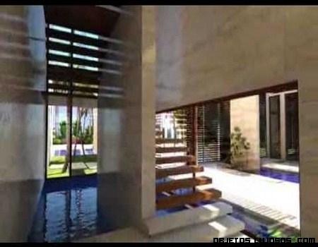 Una visita guiada en una casa de lujo for Casas de lujo en miami