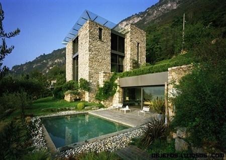 Casa italiana de piedra