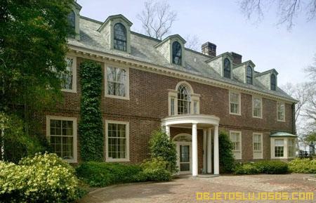 Casa de la aristocracia americana