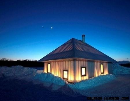 Una casa translúcida en Japón