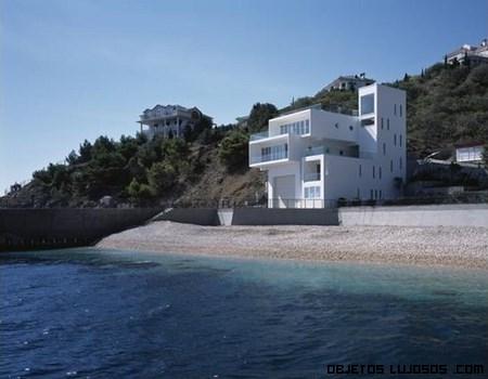 Casa de diseño en la playa