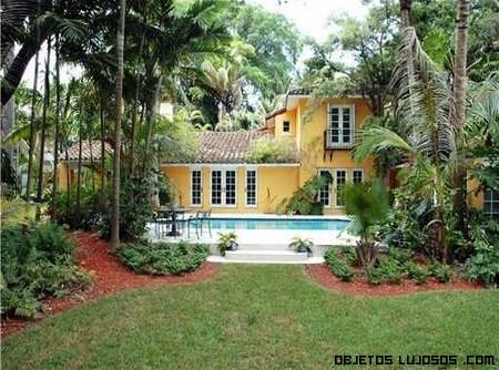 Casas en coconut grove miami - Jardines de casas de lujo ...