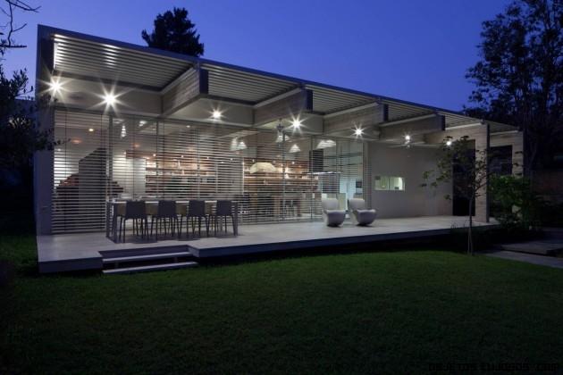 Iluminación en casas de lujo
