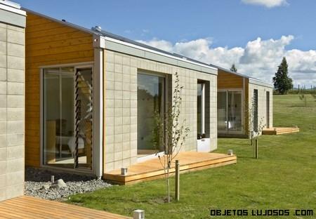 casas con materiales reciclados