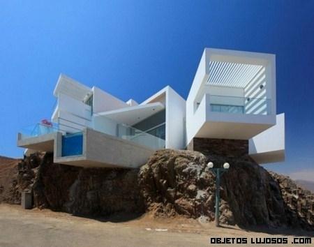 Casa con vistas a la playa Las Lomas