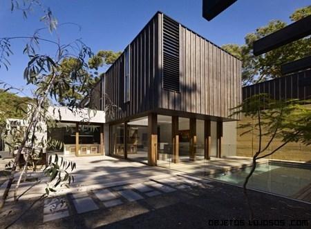 La casa enclave una arquitectura moderna - Casa rural lujo ...