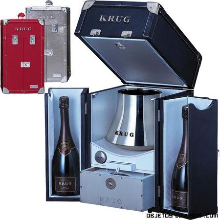 cajas metálicas para champán