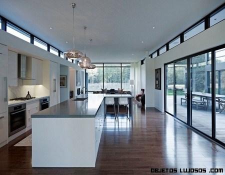 Nueva casa moderna de nombre clearview for Cocinas de casas modernas