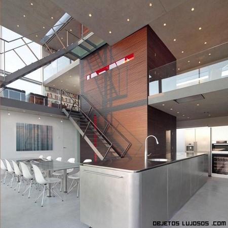 casas de lujo con tres pisos