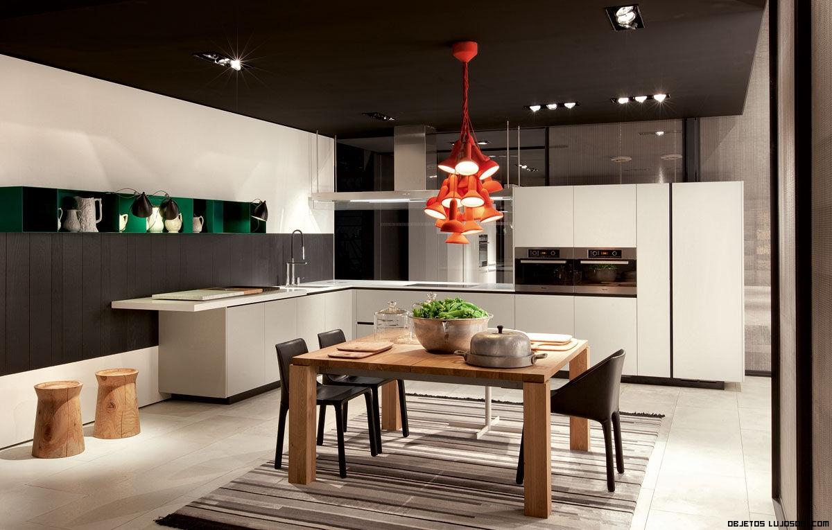 Cocinas con estilo varenna for Alacenas de cocina modernas