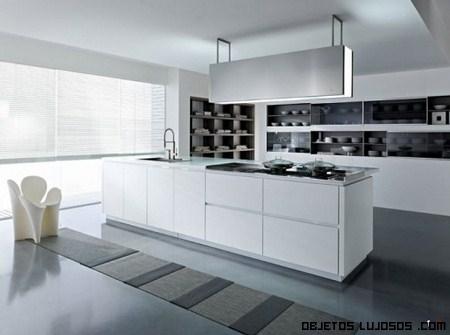 cocinas italianas llenas de lujo - Cocinas Modernas Italianas