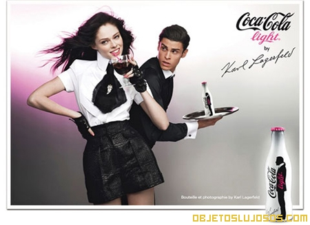 Coca Cola Light por Karl Lagerfeld
