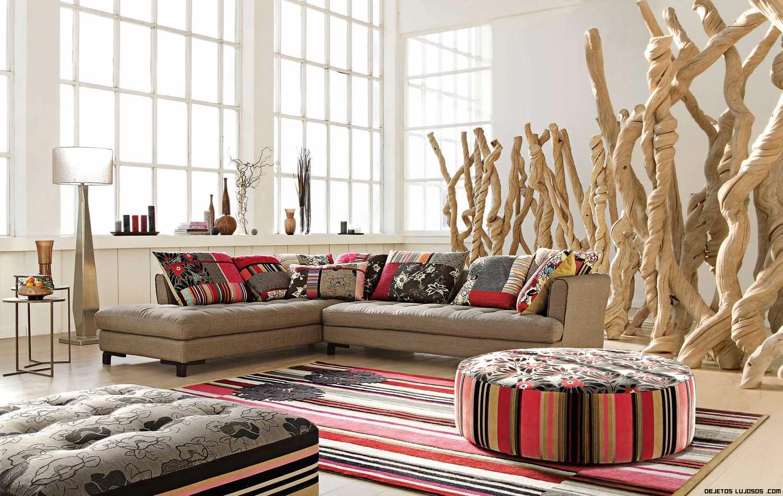 Sof s diferentes con roche bobois - Colores de sofas ...