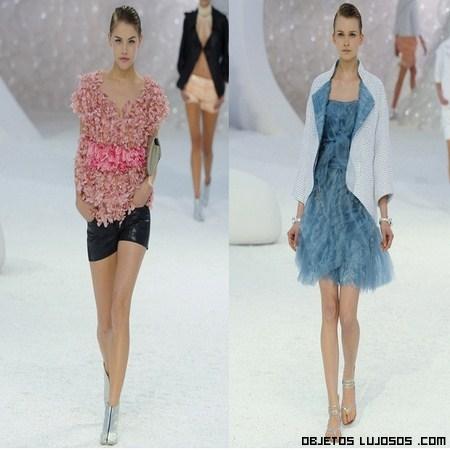 Colección Primavera-verano Chanel 2012