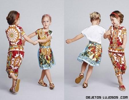 Vestidos estampados para niñas