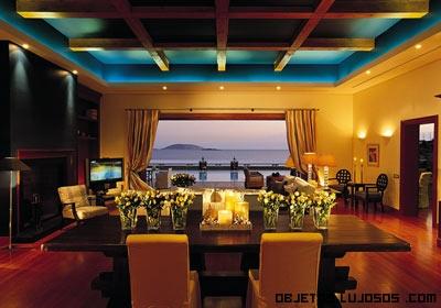 Comedores con vistas al mar