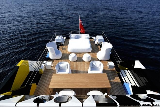 Barcos de lujo modernos