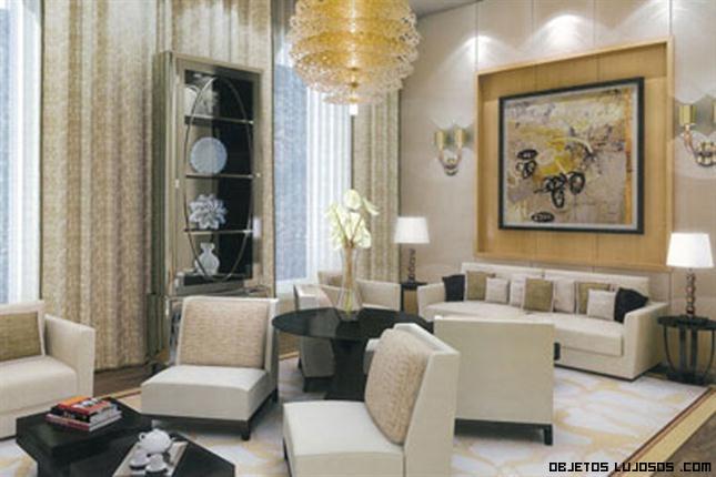 Lujosa casa de mukesh ambani for Salas clasicas modernas