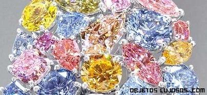 diamantes de colores para complementos
