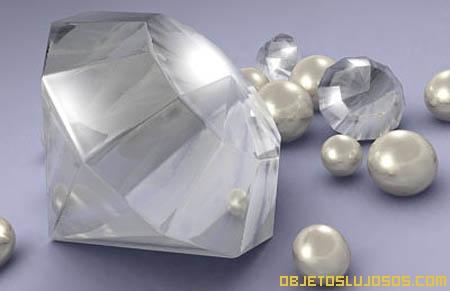 Diamantes y perlas