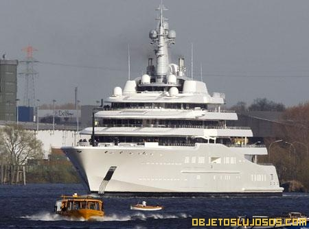 El yate privado más grande y caro del mundo