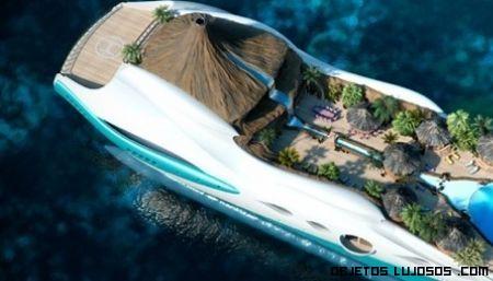 Yate de lujo Tropical Island Paradise