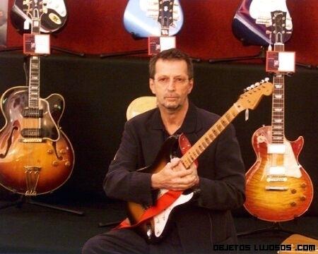 Subastadas las guitarras de Eric Clapton