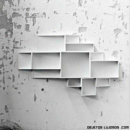 Estanteria de pared diseño