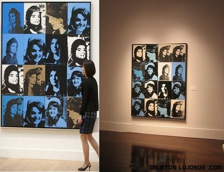 16 Jackies de Andy Warhol