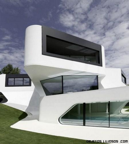 Una casa de lo m s futurista for Casas futuristas