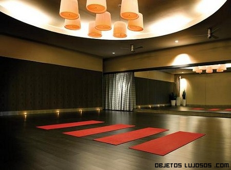 Salones de yoga decoracion - Decoracion gimnasio en casa ...