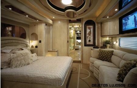Decoración de habitaciones lujosas