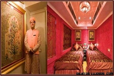 Un tren lleno de lujos por la India