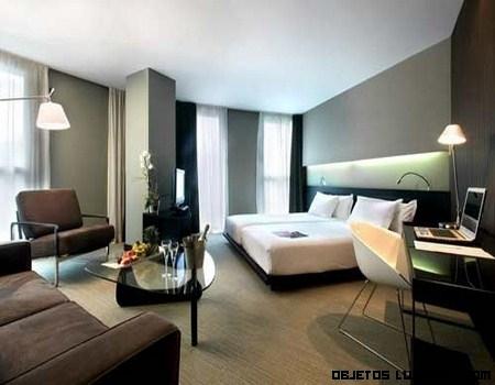 Hoteles silken un lujo minimalista - Decoracion habitacion hotel ...