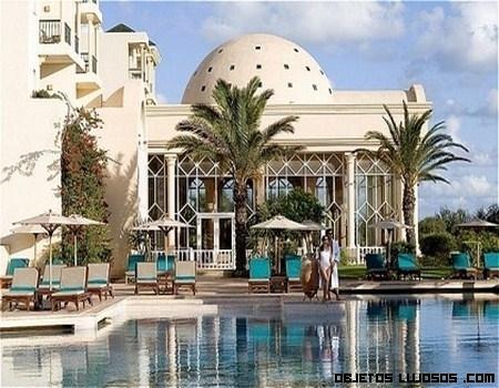 Un hotel lujoso en Túnez